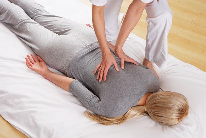 Shiatsu manuelle Therapie